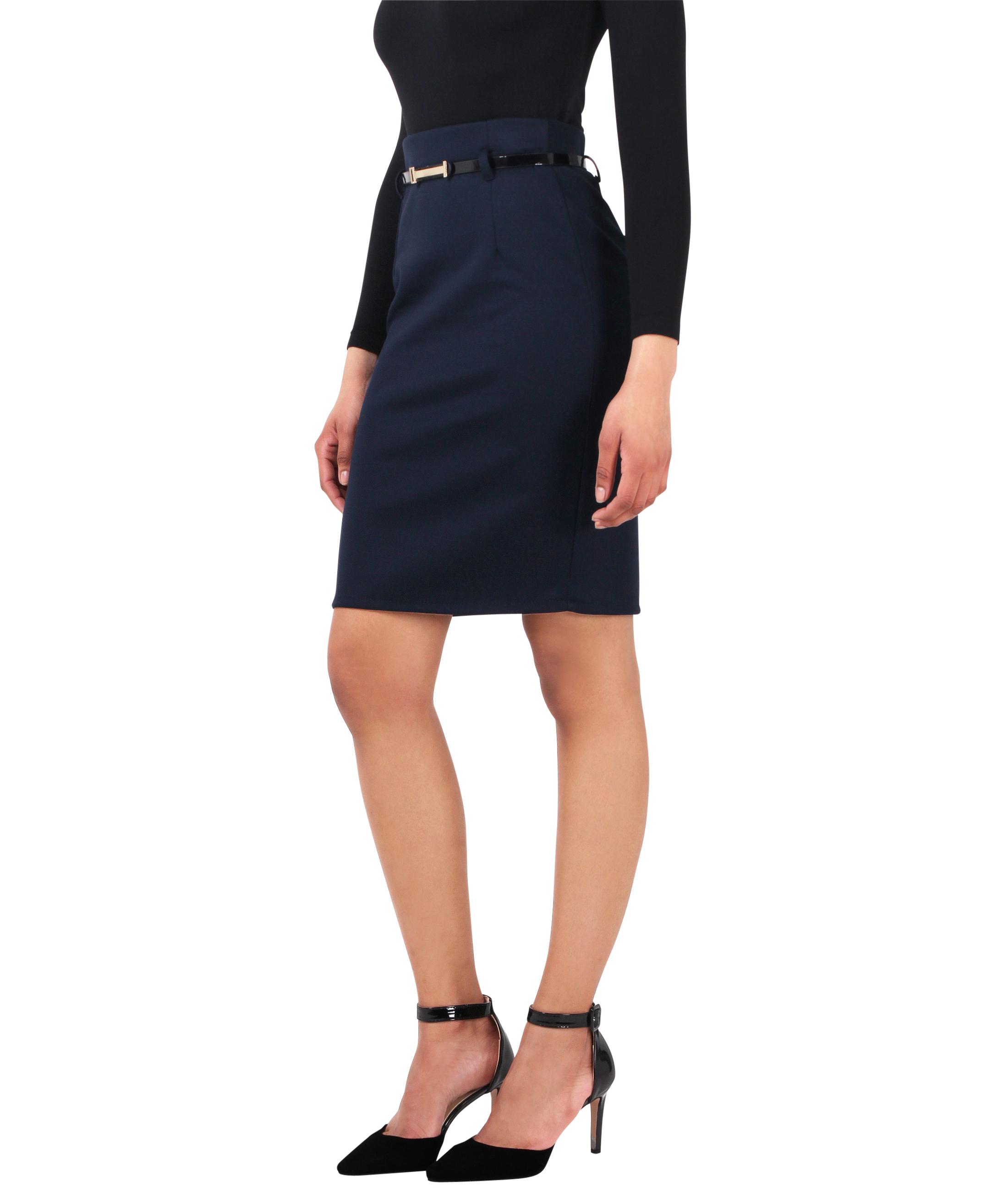 06e1aa17a152 Krisp® Femmes Jupe Mini Courte Crayon Moulante Business Affaires ...