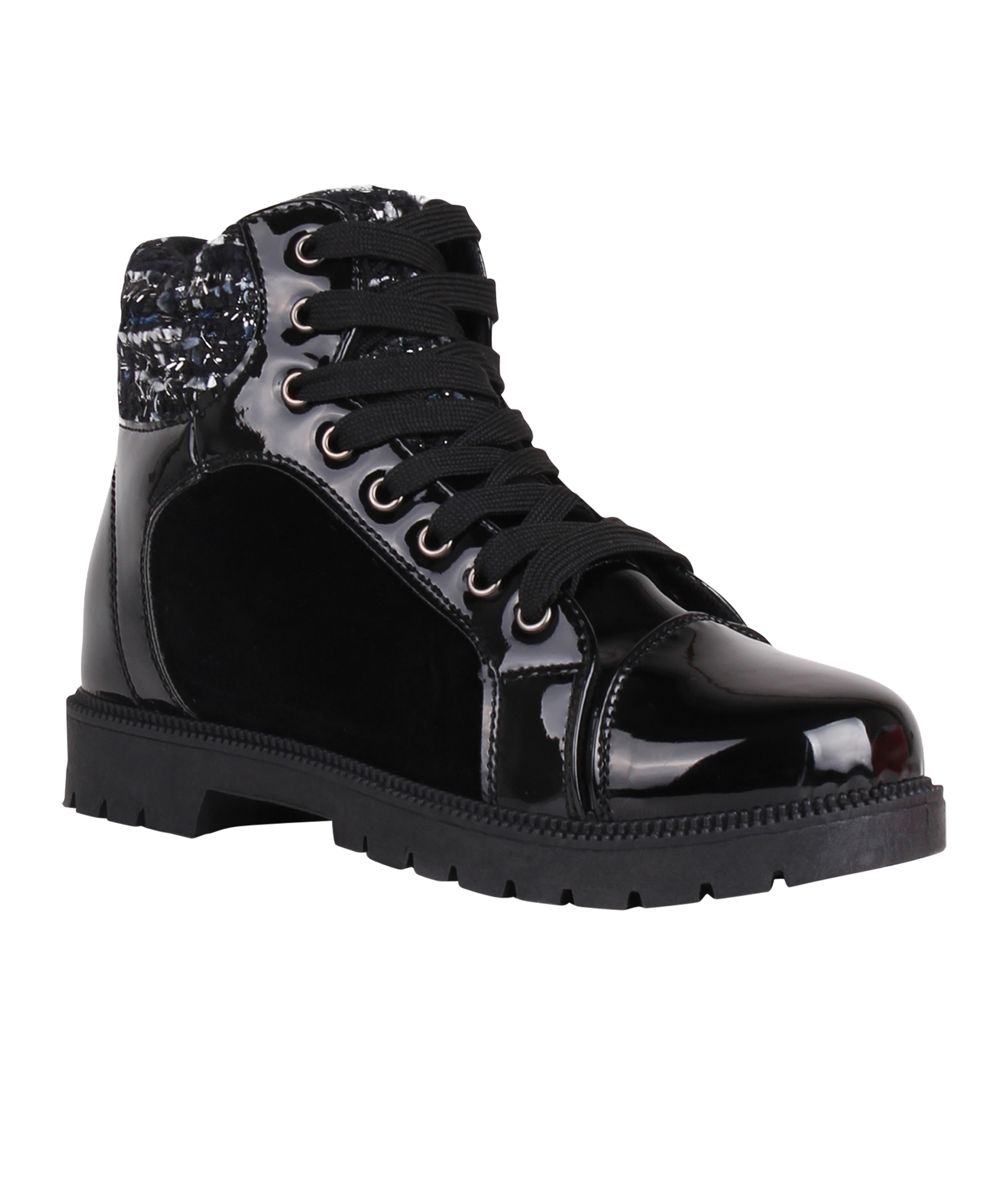 femmes bottines boots vernis uni talon bloc sneakers montantes cuir daim chaussure d 39 exterieur. Black Bedroom Furniture Sets. Home Design Ideas